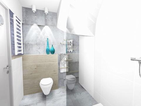 łazienka w Wieliczce, 2 piętro, 2