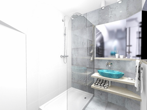 łazienka w Wieliczce, 2 piętro, 4