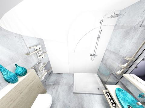 łazienka w Wieliczce, 2 piętro, 5