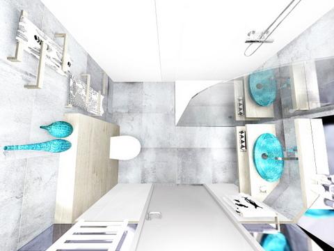 łazienka w Wieliczce, 2 piętro, 6