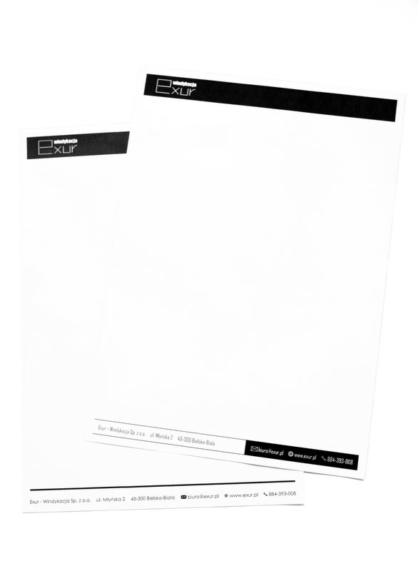 exur papier firmowy 1