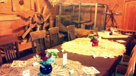 folk design, dekoracja sali weselnej, 2 piętro, 1