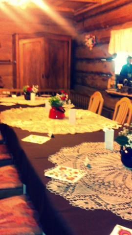 folk design, dekoracja sali weselnej, 2 piętro, 3