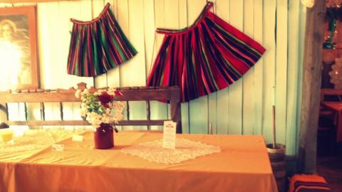 folk design, dekoracja sali weselnej, 2 piętro, 8