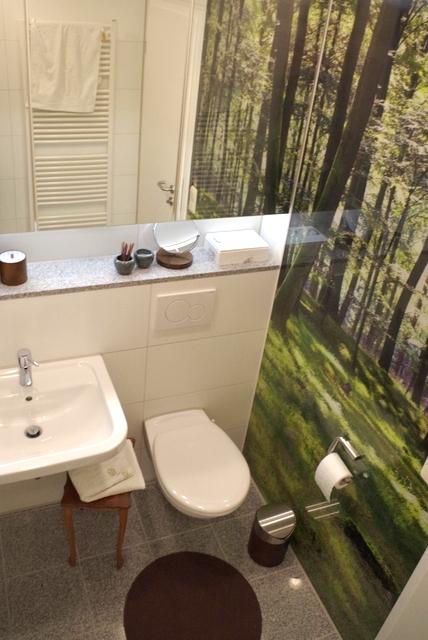 łazienka biało zielona, 2 piętro, 2