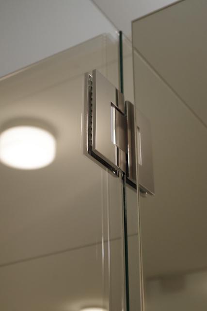 łazienka biało zielona, 2 piętro, 6