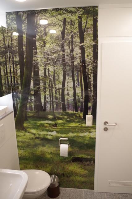 łazienka biało zielona, 2 piętro, 7
