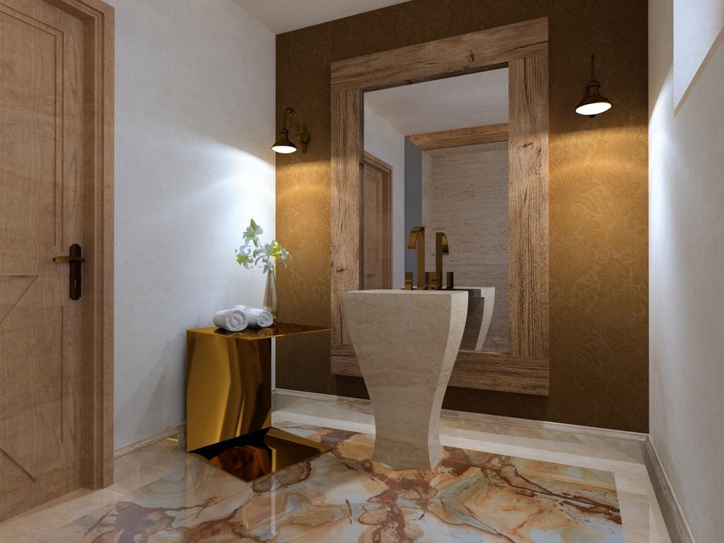 elegancka toaleta, 2 piętro, 1
