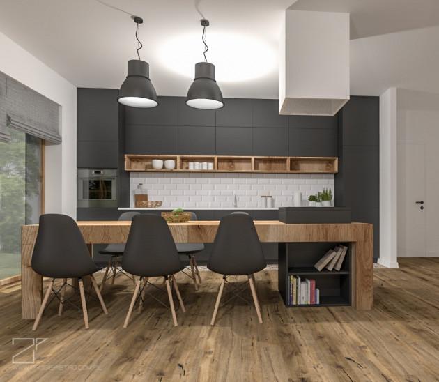 2 piętro, salon z kuchnią (1)