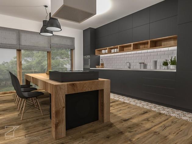 2 piętro, salon z kuchnią (2)