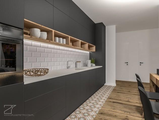 2 piętro, salon z kuchnią (3)