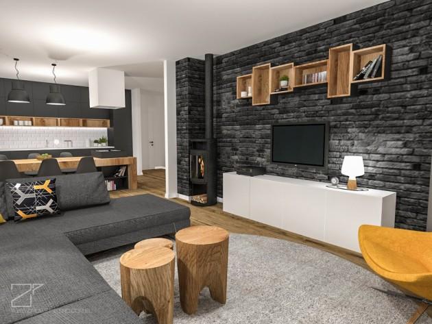 2 piętro, salon z kuchnią (5)