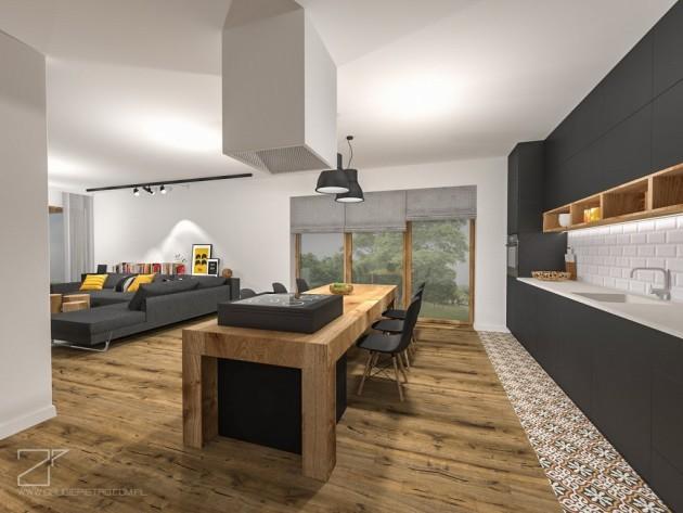 2 piętro, salon z kuchnią (7)