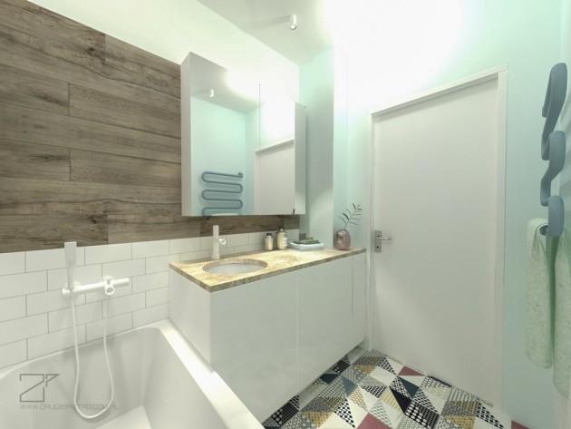 łazienka pastelowa, 2 piętro (1)