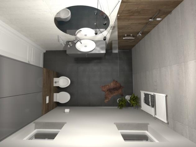 szara łazienka, 2 piętro (1)